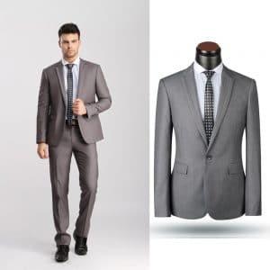 sewa jas warna dark gray model