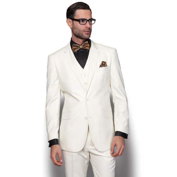 sewa jas warna light cream model