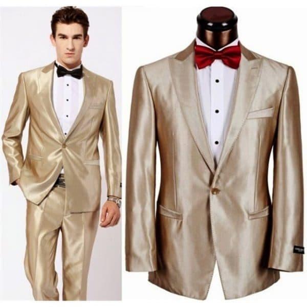 sewa jas warna gold model
